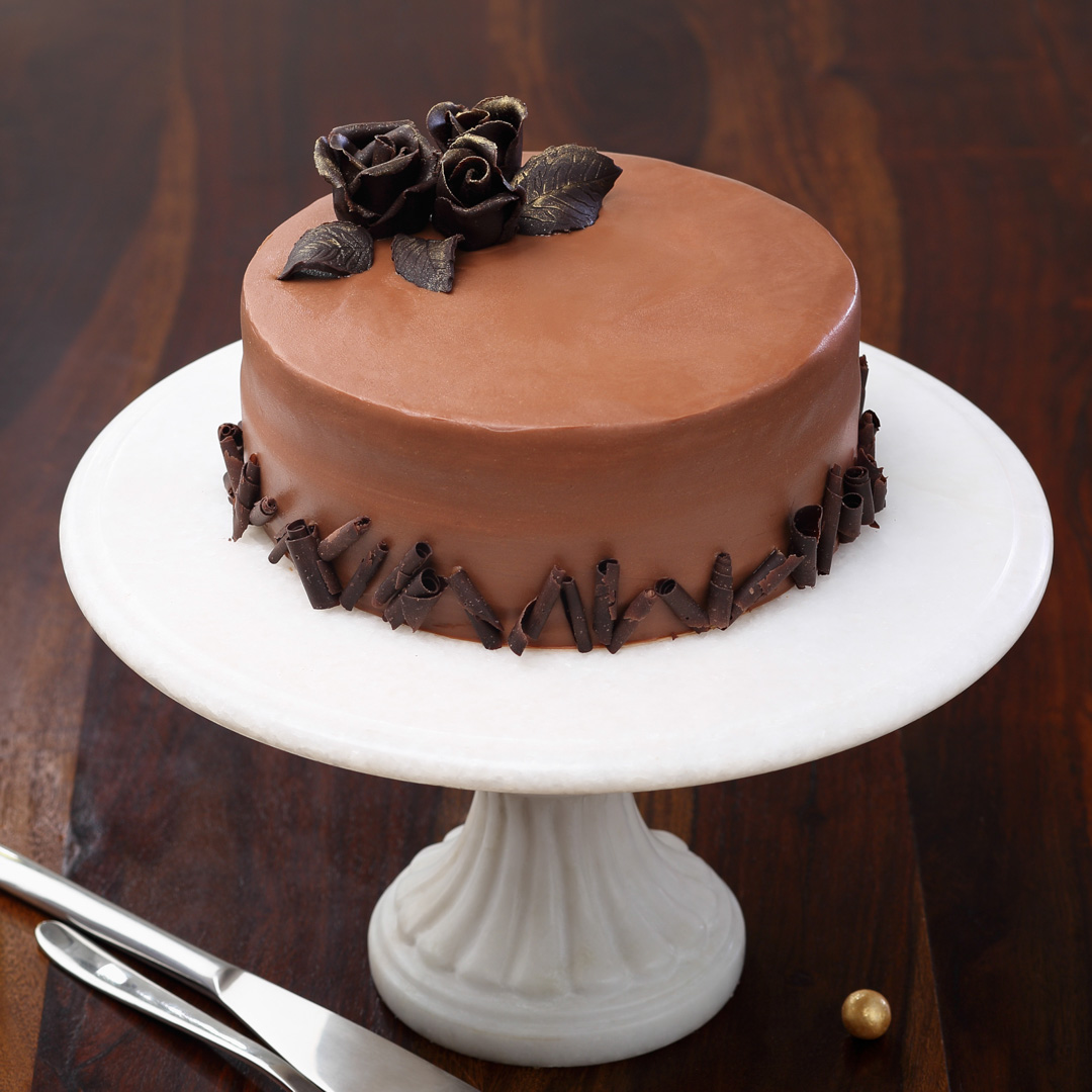 Belgian-Couverture-Chocolate-Cake
